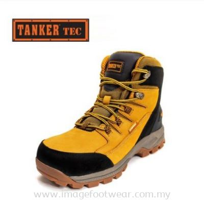 Tanker Technical High-Cut Safety Shoes TKT-60002 - YELLOW/BLACK Colour