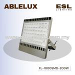 ABLELUX 200WATT LED FLOODLIGHT / SPOTLIGHT 18000 LUMEN POWER FACTOR 0.95 AC180-260V IP65 OUTDOOR
