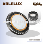 ABLELUX HIGH BAY UFO Round 200W LED LIGHT 22000 LUMEN POWER FACTOR 0.95 AC100- 277V ISOLATED DRIVER