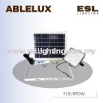 ABLELUX 60W LED SOLAR PANEL FLOODLIGHT / SPOTLIGHT IP 66 DIMMABLE S.O.S LIGHT