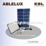 ABLELUX 300W LED SOLAR PANEL FLOODLIGHT / SPOTLIGHT IP 66 DIMMABLE S.O.S LIGHT IS
