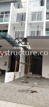 To fabrication,supply and install pergola Acp awning @ Jalan Clover 5, Garden Resindence, 62000 Cyberjaya. Aluminum Composite Panel