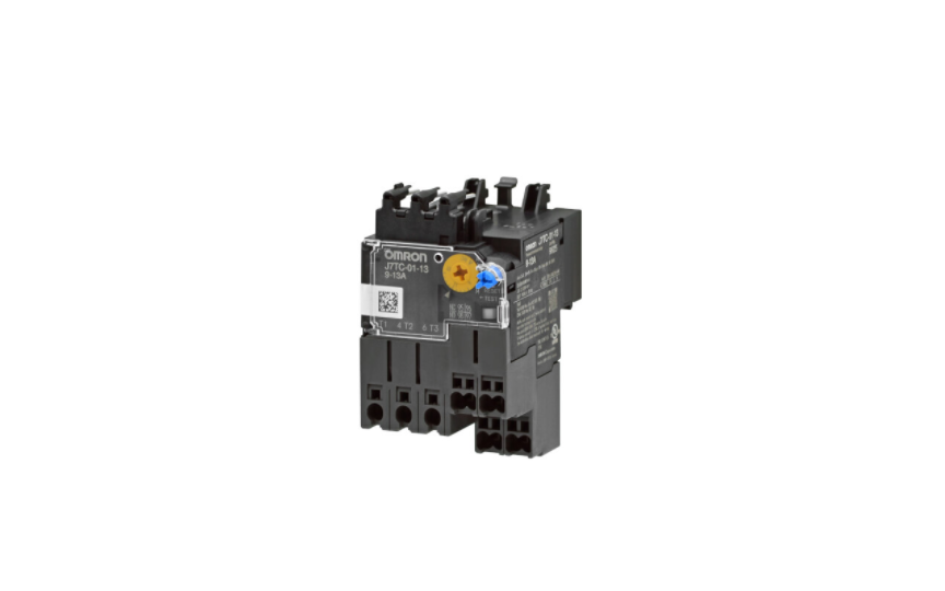 OMRON J7TC Series  Motor Protection from Overload and Phase -loss by Combination with J7KC for up to