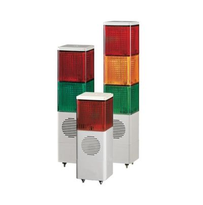 SJDL Stackable Cube Tower Lights with Built-in Alarm Max.90dB