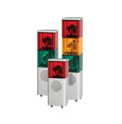 SJD Stackable Cube Tower Lights with Built-in Alarm Max.90dB