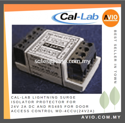 CAL-LAB Callab Cal Lab Lightning Surge Isolator Protector for 24V DC 2A and RS485 MD-4Ccu(24V2A)