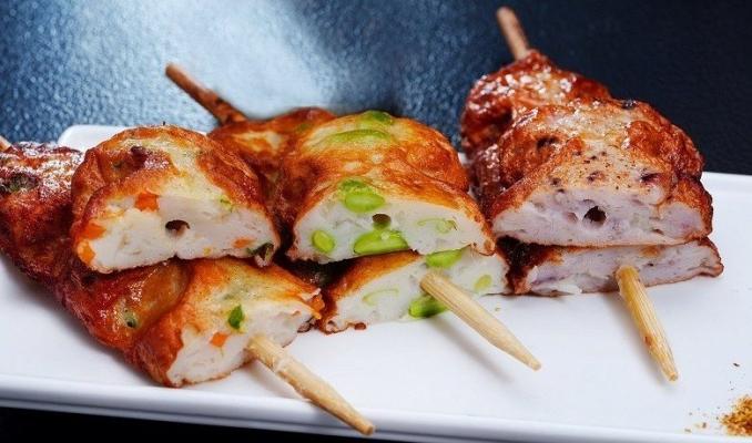 Satsuma Age Stick (Vegetable) (70g x 10 Pcs )