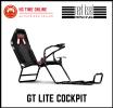 Next Level Racing GT Lite Cockpit | NLR GTLITE Racing Cockpit | Foldable Simulator Cockpit | NLR-S02 Racing Cockpits Next Level Racing Peripherals