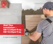 Are You Looking For Expert Floor Tiles Installer In Shah Alam ? Amazing Tiles Installer Just Right Here For You