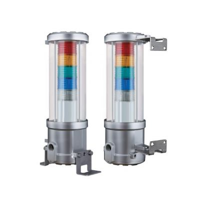 QTEX ATEX, IECEx, CE and KCs Marked Explosion Proof  LED Signal Tower Light with Flame / Dustproof Housing Hazardous Area Visual Alarm / ATEX Beacon