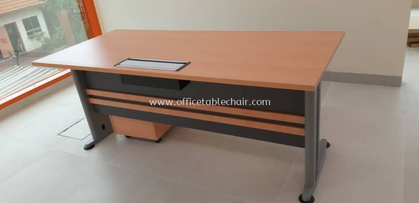 DELIVERY & INSTALLATION WRITING TABLE TT 128 & DRAWER 3D T-YM 3 OFFICE FURNITURE TAMAN PUCHONG PERDANA, PUCHONG