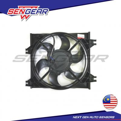 HYUNDAI ACCENT 1.5 03Y AIRCOND MOTOR COMPLETE SET WITH FAN GUARD