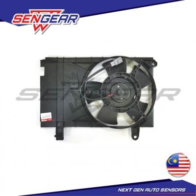 CHEVROLET AVEO 1.5 AIRCOND MOTOR COMPLETE SET WITH FAN GUARD
