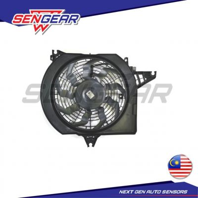 HYUNDAI STAREX AIRCOND MOTOR COMPLETE SET WITH FAN GUARD