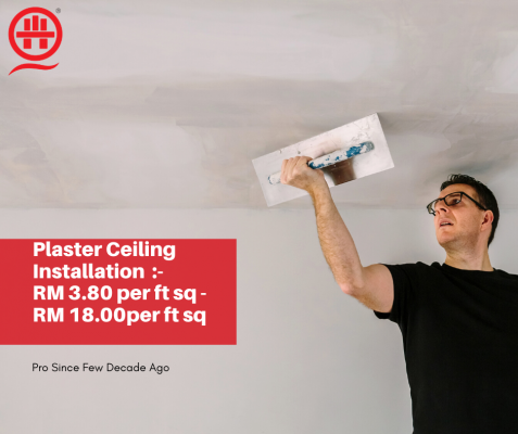 Elegant Plaster Ceiling Contractor in KL and Selangor, Quality Guarantee