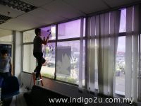 Reflective Tinted Film ( Silver )