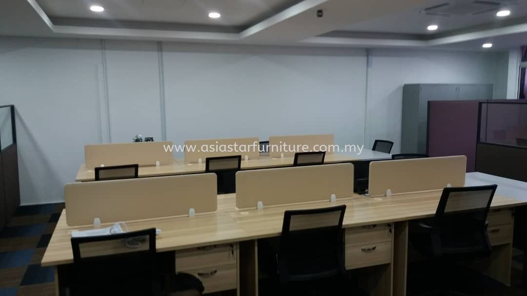 DELIVERY & INSTALLATION DESKING PANEL WRITING TABLE EXT 126 & BATLEY LOW CHAIR OFFICE FURNITURE SEKSYEN 19, PETALING JAYA