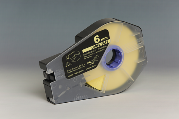 3476A026AB LABEL TAPES, YELLOW, W-6MM