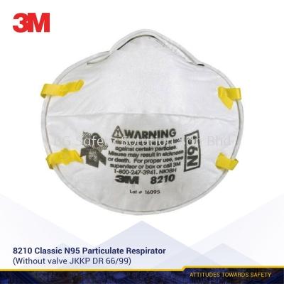 3M N95, 8210 Classic Particulate Respirator