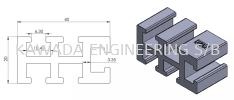 ALUMINIUM PROFILE 20 X 40 (BELT CONVEYOR) Other Profiles  Aluminium Profile