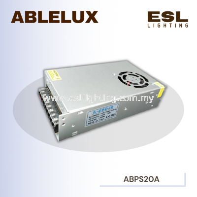 ABLELUX 20A POWER SUPPLY 250W AC 110 / 220V