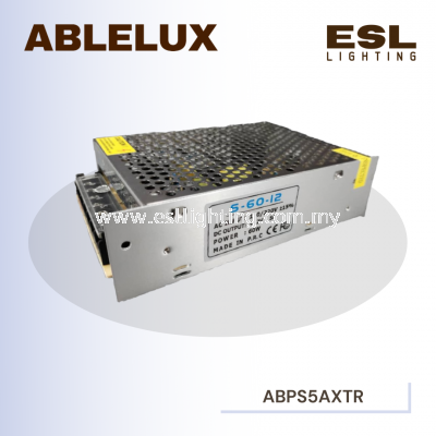 ABLELUX 5A EXTRA POWER SUPPLY 60W AC 110 / 220V