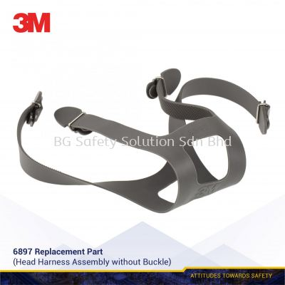 3M 6897 Head Harness Assembly without Buckle