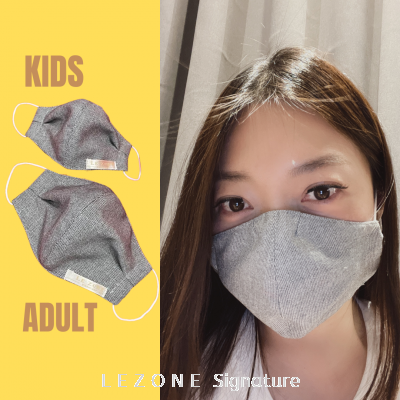 3266 LEZONE Protective 3-Layer Washable Fashion Mask(Limited Collection)