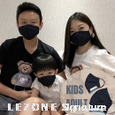 3265 LEZONE Protective 3-Layer Washable Fashion Mask(Limited Collection)