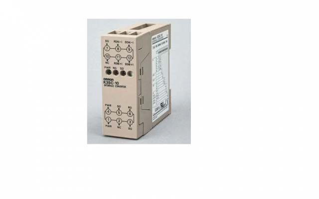 OMRON K3SC  A compact converter that allows communications between RS-