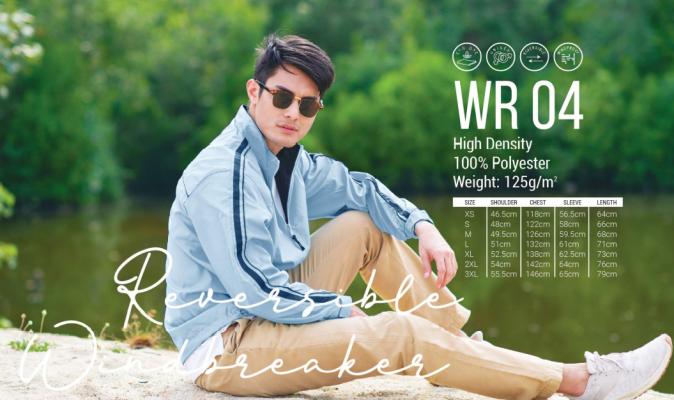 Reversible Windbreaker - WR 04
