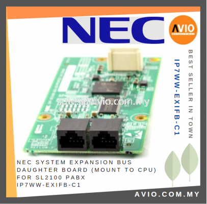 NEC System Expansion BUS Daughter Board Mount to CPU for SL2100 PABX IP7WW-EXIFB-C1