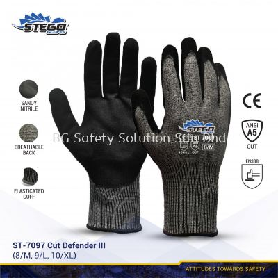 STEGO ST-7097 CUT PROTECTION - CUT DEFENDER III GLOVE