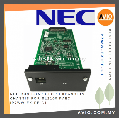 NEC BUS Board for Expansion Chassis for SL2100 PABX Phone Line IP7WW-EXIFE-C1