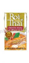 Roi Thai Tom Yum Soup with Coconut Milk 250ML Thai Product 泰国食品