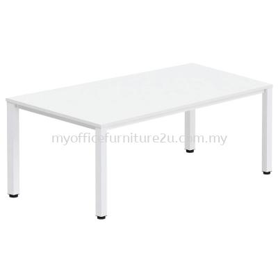 UR1890 U Leg with Rectangular Table 1800L x 900D x 750H mm (White)