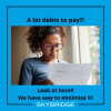 Every month is stressful when it comes to paying off debts??