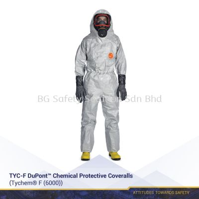 TYC-F DuPont™ Chemical Protective Coveralls
