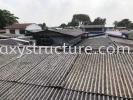 Labour dismantle old roofing and install new metal deck roofing @ Jalan Selampit 21, Kaw.3 Taman Klang Jaya, 41200 Klang Selangor. Awning  Repairing Work