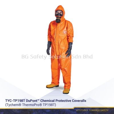 TYC-TP198T DuPont™ Chemical Protective Coveralls