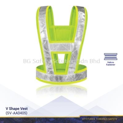 V Shape Safety Vest