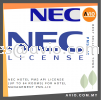 NEC Hotel PMS API License up to 64 rooms for Hotel Management PMS-LIC NEC Accessories PABX / KEYPHONE SYSTEM