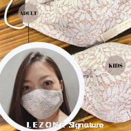 3268 LEZONE Protective 3-Layer Washable Fashion Mask(Limited Collection)