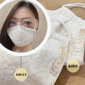 3269 LEZONE Protective 3-Layer Washable Fashion Mask(Limited Collection)
