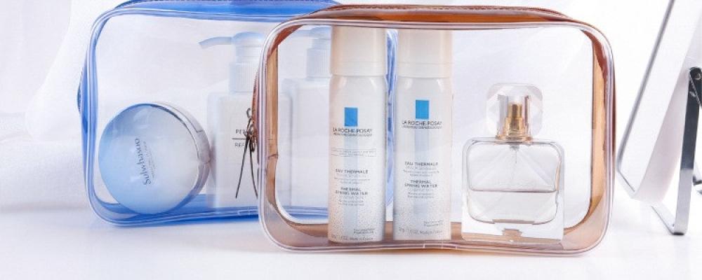 PVC Waterproof Toiletries Bags PVC 0.6mm thickness CN11