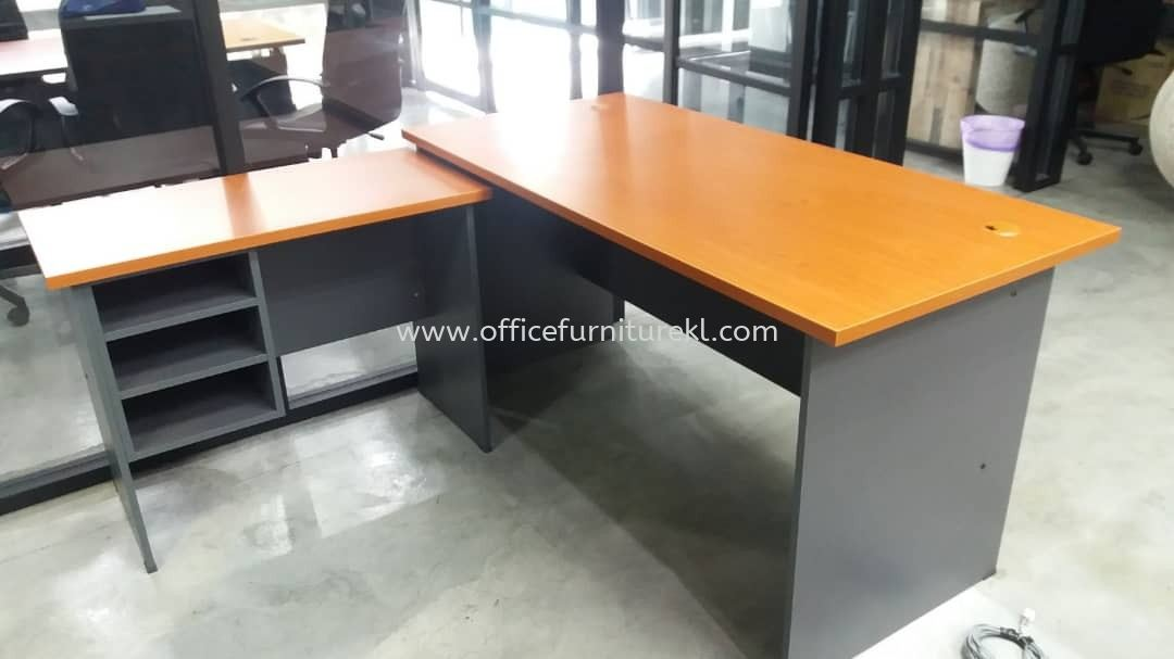 DELIVERY & INSTALLATION GT 157 WRITING OFFICE TABLE l GS 1060 SIDE OFFICE TABLE l OFFICE FURNITURE l TAIPAN BUSINESS CENTRE l SUBANG JAYA l SELANGOR