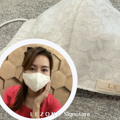 3259 LEZONE Protective 3-Layer Washable Fashion Mask��Limited Collection��