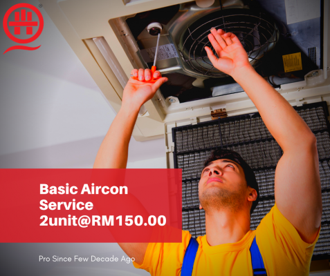 Call Now To Get Aircon Cleaning 2unit Under RM150.00