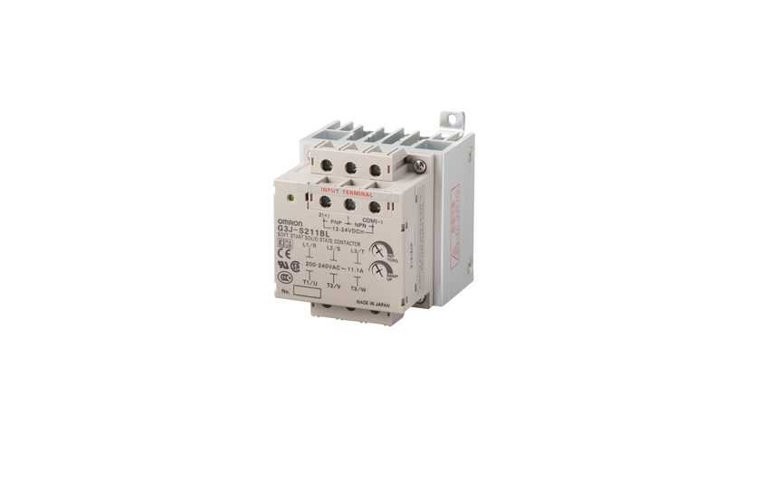 Omron G3J-T-C New Models with AC Power Supply Input and Monitor Output Equivalent to Non-contact SPS
