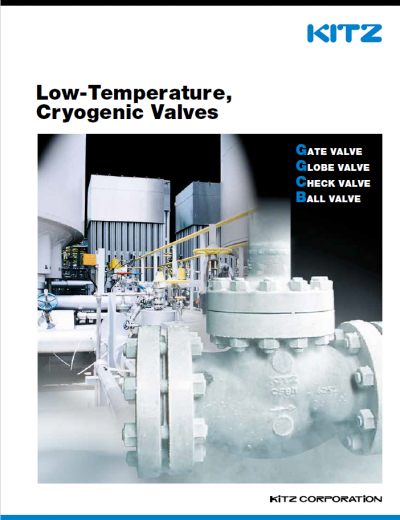 KITZ Low Temperature and Cryogenic Valves
